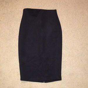 bebe Skirts - Bebe black midi knit skirt